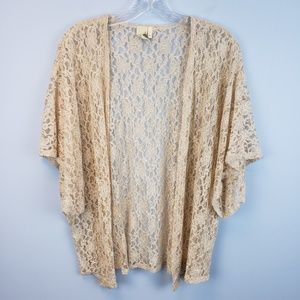 Francescas collection lace kimono